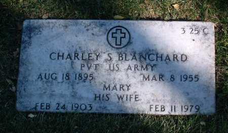 BLANCHARD, CHARLEY S. - Yavapai County, Arizona | CHARLEY S. BLANCHARD - Arizona Gravestone Photos