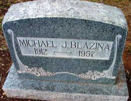 BLAZINA, MICHAEL J. - Yavapai County, Arizona | MICHAEL J. BLAZINA - Arizona Gravestone Photos