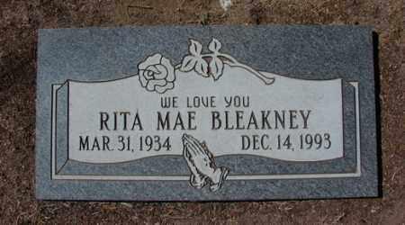 BLEAKNEY, RITA MAE - Yavapai County, Arizona | RITA MAE BLEAKNEY - Arizona Gravestone Photos
