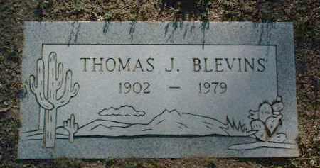 BLEVENS, THOMAS J. - Yavapai County, Arizona | THOMAS J. BLEVENS - Arizona Gravestone Photos