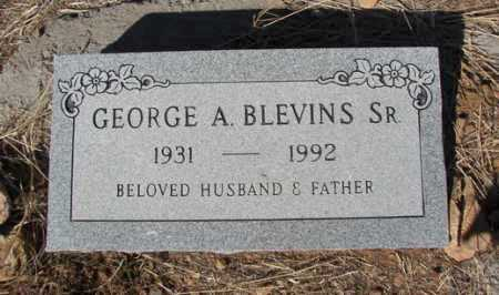 BLEVINS, GEORGE A. - Yavapai County, Arizona | GEORGE A. BLEVINS - Arizona Gravestone Photos