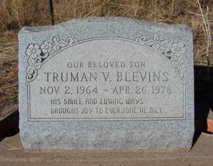 BLEVINS, TRUMAN V. - Yavapai County, Arizona | TRUMAN V. BLEVINS - Arizona Gravestone Photos