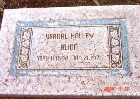 HALLEY BLINN, VERNAL - Yavapai County, Arizona | VERNAL HALLEY BLINN - Arizona Gravestone Photos