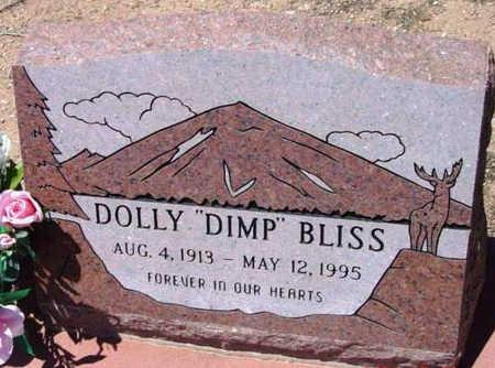 HOLLAMON BLISS, DOLLY (DIMP) - Yavapai County, Arizona | DOLLY (DIMP) HOLLAMON BLISS - Arizona Gravestone Photos