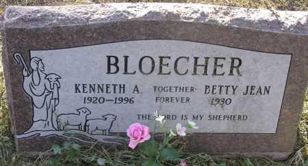 BLOECHER, BETTY JEAN - Yavapai County, Arizona | BETTY JEAN BLOECHER - Arizona Gravestone Photos