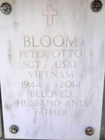 BLOOM, PETER OTTO - Yavapai County, Arizona | PETER OTTO BLOOM - Arizona Gravestone Photos