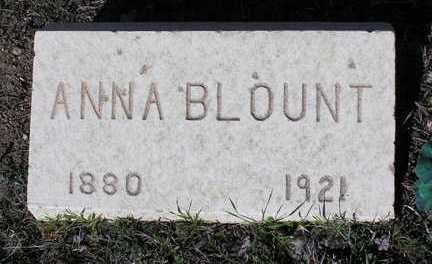 MARKHAM BLOUNT, ANNA MAY (ANNIE) - Yavapai County, Arizona | ANNA MAY (ANNIE) MARKHAM BLOUNT - Arizona Gravestone Photos