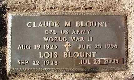 NICHOLAS BLOUNT, RUBY L. - Yavapai County, Arizona | RUBY L. NICHOLAS BLOUNT - Arizona Gravestone Photos