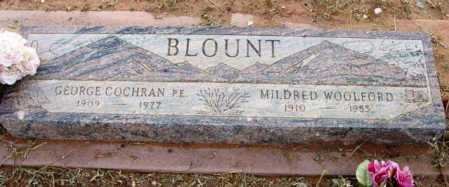 BLOUNT, MILDRED - Yavapai County, Arizona | MILDRED BLOUNT - Arizona Gravestone Photos