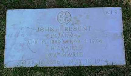 BLOUNT, ICA MARIE - Yavapai County, Arizona | ICA MARIE BLOUNT - Arizona Gravestone Photos