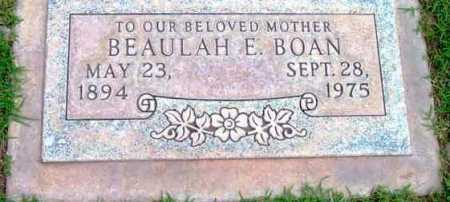 BOAN, BEAULAH ELIZABETH - Yavapai County, Arizona | BEAULAH ELIZABETH BOAN - Arizona Gravestone Photos