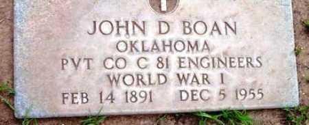 BOAN, JOHN DOLPHUS - Yavapai County, Arizona | JOHN DOLPHUS BOAN - Arizona Gravestone Photos