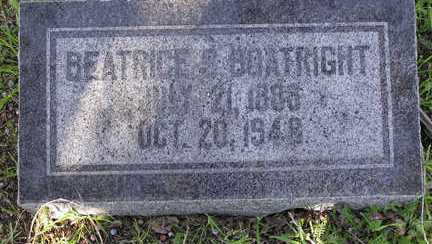 RIDDLE BOATRIGHT, BEATRICE STELLA - Yavapai County, Arizona | BEATRICE STELLA RIDDLE BOATRIGHT - Arizona Gravestone Photos