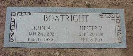 BOATRIGHT, JOHN ANDERSON - Yavapai County, Arizona | JOHN ANDERSON BOATRIGHT - Arizona Gravestone Photos