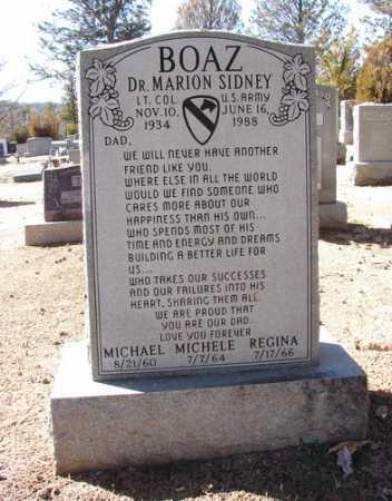 BOAZ, MARION SIDNEY - Yavapai County, Arizona | MARION SIDNEY BOAZ - Arizona Gravestone Photos