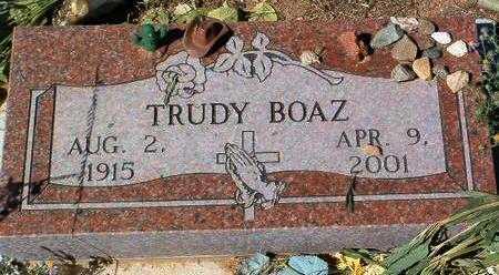 BOAZ, GERTRUDE LORENE - Yavapai County, Arizona   GERTRUDE LORENE BOAZ - Arizona Gravestone Photos