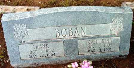 BOBAN, KATHERINE - Yavapai County, Arizona   KATHERINE BOBAN - Arizona Gravestone Photos