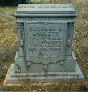 BOBLETT, CHARLES S. - Yavapai County, Arizona | CHARLES S. BOBLETT - Arizona Gravestone Photos