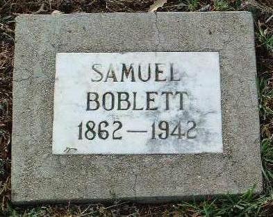 BOBLETT, SAMUEL MORGAN - Yavapai County, Arizona | SAMUEL MORGAN BOBLETT - Arizona Gravestone Photos