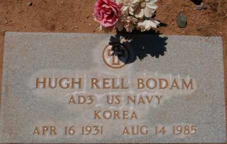 BODAM, HUGH RELL - Yavapai County, Arizona   HUGH RELL BODAM - Arizona Gravestone Photos