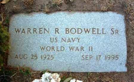 BODWELL, WARREN R. - Yavapai County, Arizona | WARREN R. BODWELL - Arizona Gravestone Photos