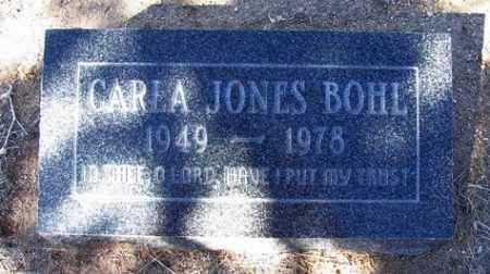 JONES BOHL, CARLA - Yavapai County, Arizona | CARLA JONES BOHL - Arizona Gravestone Photos