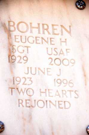 BOHREN, JUNE J. - Yavapai County, Arizona | JUNE J. BOHREN - Arizona Gravestone Photos