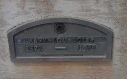 BOLER, MARY LOUISE (LOU) - Yavapai County, Arizona | MARY LOUISE (LOU) BOLER - Arizona Gravestone Photos