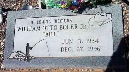 BOLER, WILLIAM OTTO, JR. - Yavapai County, Arizona | WILLIAM OTTO, JR. BOLER - Arizona Gravestone Photos