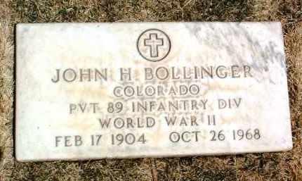 BOLLINGER, JOHN H. - Yavapai County, Arizona | JOHN H. BOLLINGER - Arizona Gravestone Photos
