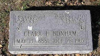 BONHAM, CLARA ETHEL - Yavapai County, Arizona | CLARA ETHEL BONHAM - Arizona Gravestone Photos