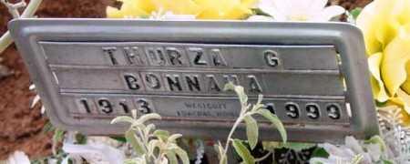 HARRIS BONNAHA, THURZA - Yavapai County, Arizona   THURZA HARRIS BONNAHA - Arizona Gravestone Photos