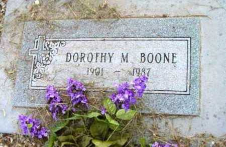 BOONE, DOROTHY M. - Yavapai County, Arizona | DOROTHY M. BOONE - Arizona Gravestone Photos