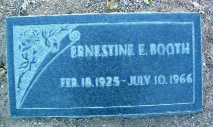 BOOTH, ERNESTINE EVELYN - Yavapai County, Arizona | ERNESTINE EVELYN BOOTH - Arizona Gravestone Photos