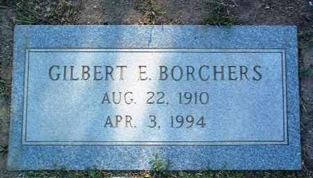 BORCHERS, GILBERT EDWARD - Yavapai County, Arizona | GILBERT EDWARD BORCHERS - Arizona Gravestone Photos