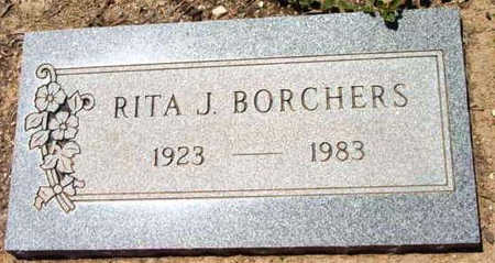 BORCHERS, RITA J. - Yavapai County, Arizona | RITA J. BORCHERS - Arizona Gravestone Photos