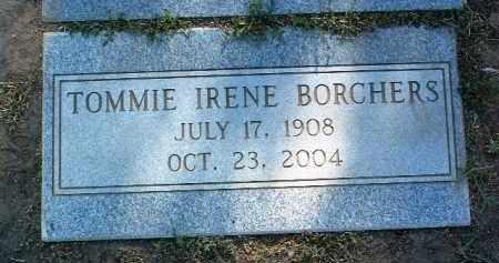 BORCHERS, TOMMIE IRENE - Yavapai County, Arizona | TOMMIE IRENE BORCHERS - Arizona Gravestone Photos