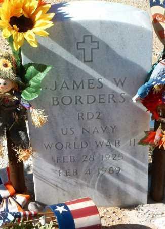 BORDERS, JAMES W. - Yavapai County, Arizona | JAMES W. BORDERS - Arizona Gravestone Photos