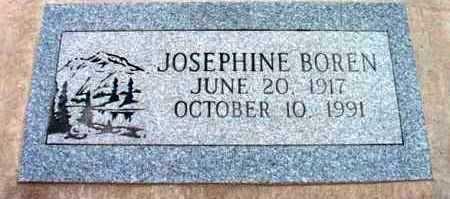 DUGAN BOREN, JOSEPHINE - Yavapai County, Arizona   JOSEPHINE DUGAN BOREN - Arizona Gravestone Photos