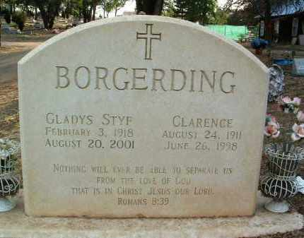 BORGERDING, GLADYS TENA - Yavapai County, Arizona   GLADYS TENA BORGERDING - Arizona Gravestone Photos