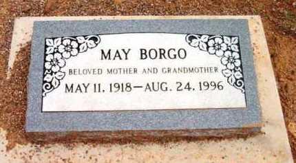 BORGO, MAY K. - Yavapai County, Arizona | MAY K. BORGO - Arizona Gravestone Photos