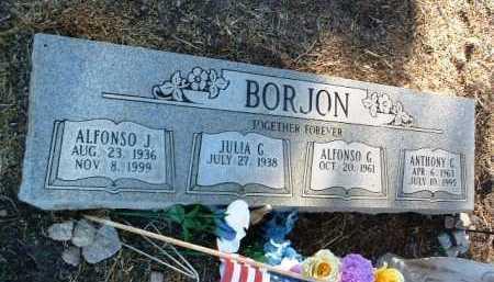 BORJON, ANTHONY GONZALEZ - Yavapai County, Arizona   ANTHONY GONZALEZ BORJON - Arizona Gravestone Photos