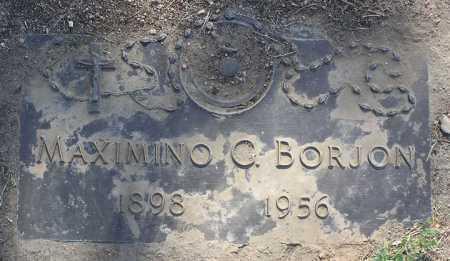 BORJON, MAXIMINO G. - Yavapai County, Arizona | MAXIMINO G. BORJON - Arizona Gravestone Photos