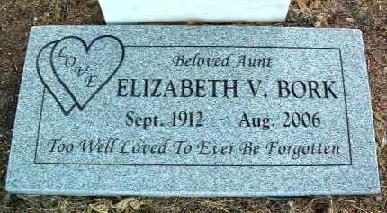 BORK, ELIZABETH VIOLET - Yavapai County, Arizona | ELIZABETH VIOLET BORK - Arizona Gravestone Photos