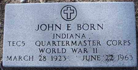 BORN, JOHN EDWARD - Yavapai County, Arizona | JOHN EDWARD BORN - Arizona Gravestone Photos