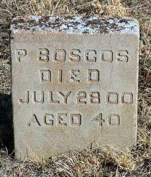 BOSCOS, P. - Yavapai County, Arizona | P. BOSCOS - Arizona Gravestone Photos