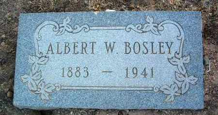 BOSLEY, ALBERT W. - Yavapai County, Arizona   ALBERT W. BOSLEY - Arizona Gravestone Photos