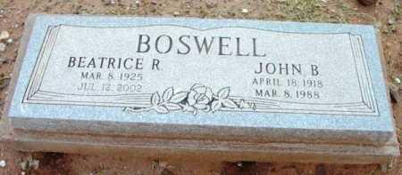 BOSWELL, JOHN B. - Yavapai County, Arizona | JOHN B. BOSWELL - Arizona Gravestone Photos