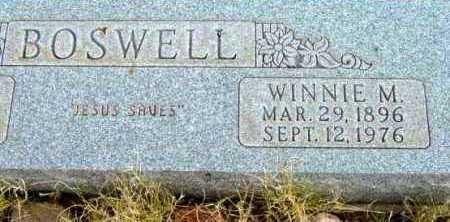 SELLS BOSWELL, WINNIE MAE - Yavapai County, Arizona | WINNIE MAE SELLS BOSWELL - Arizona Gravestone Photos