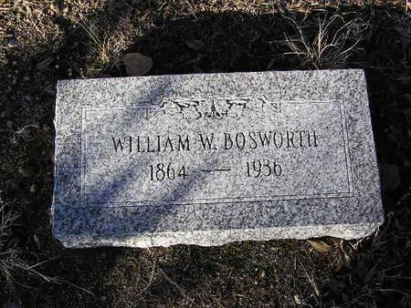 BOSWORTH, WILLIAM W. - Yavapai County, Arizona | WILLIAM W. BOSWORTH - Arizona Gravestone Photos